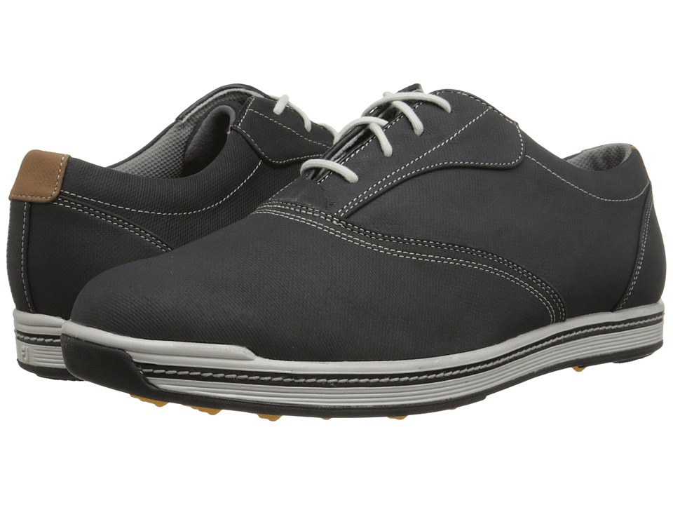 FootJoy Contour Casual (All Over Black) Men's Golf Shoes