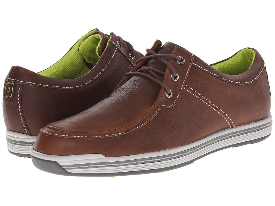 FootJoy Contour Casual Dark Brown Mens Golf Shoes