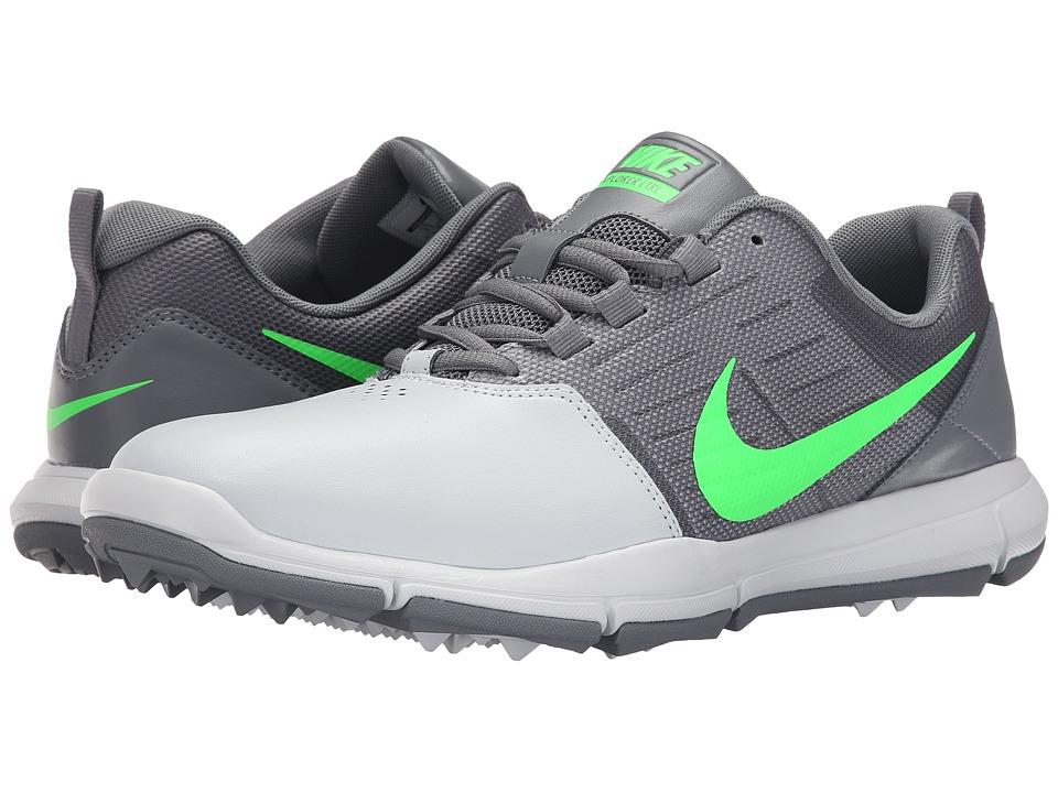Nike Golf Explorer SL (Pure Platinum/Green/Cool Grey) Men