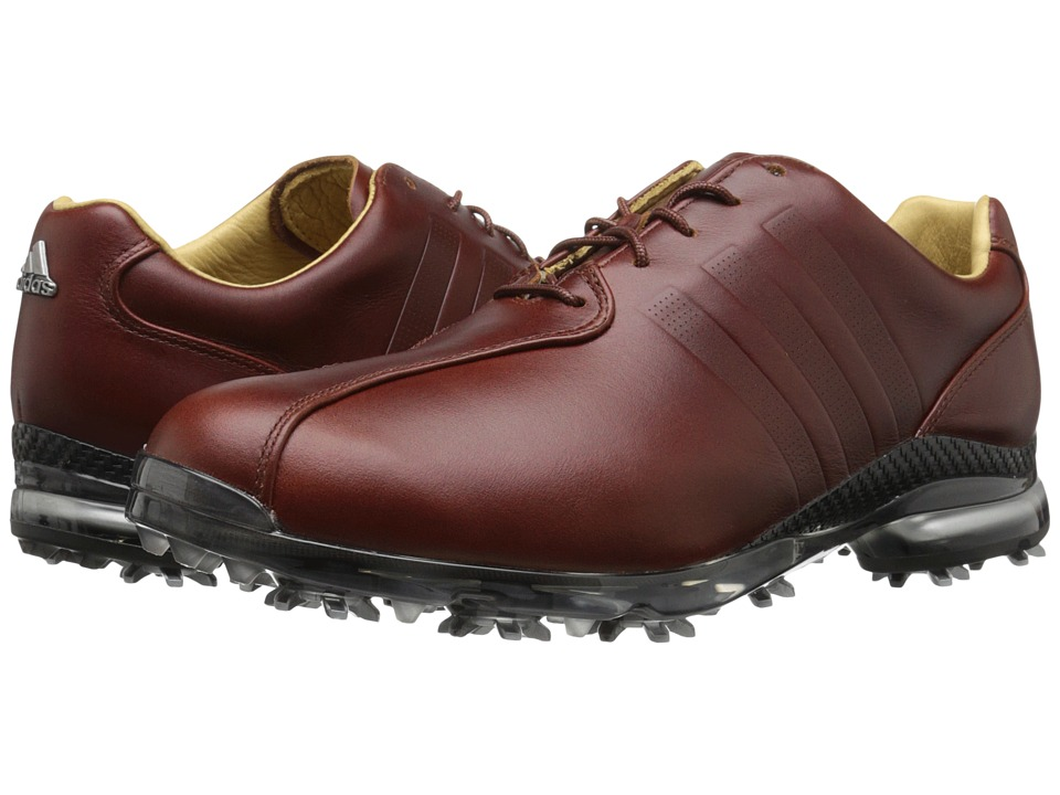 adidas Golf Adipure Tp Red Wood Tmag/Red Wood Tmag/Dark Silver Metallic Mens Golf Shoes