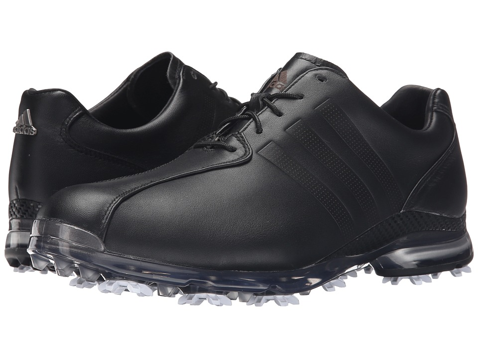 adidas Golf Adipure Tp Core Black/Core Black/Dark Silver Metallic Mens Golf Shoes