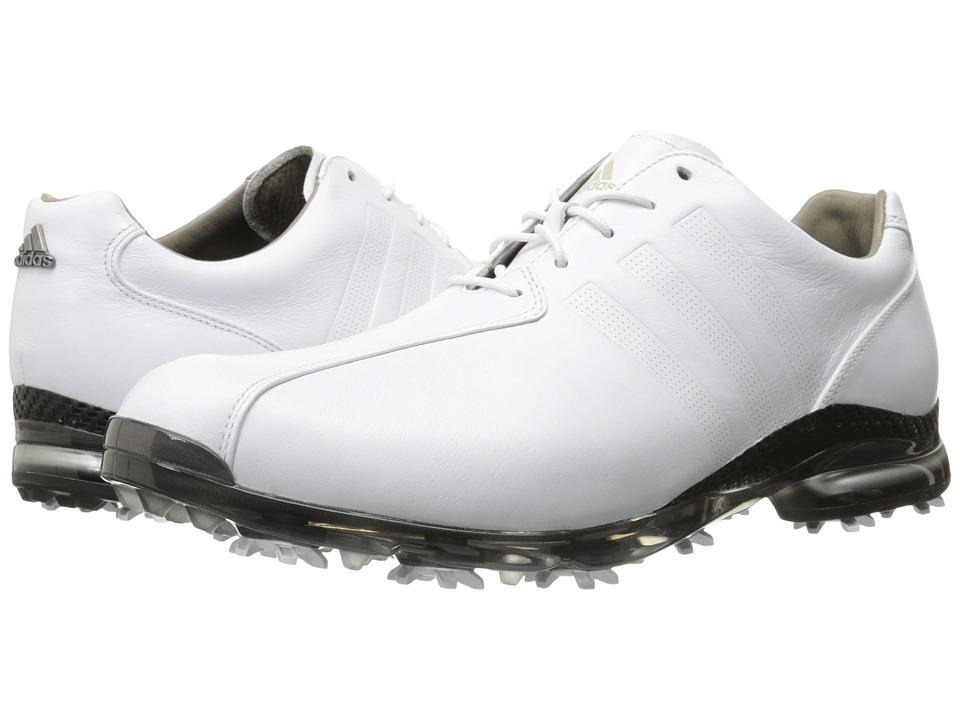 adidas Golf Adipure Tp Ftwr White/Ftwr White/Dark Silver Metallic Mens Golf Shoes