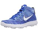 Nike Golf FI Flyknit Chukka (Racer Blue/White University Blue/Green Street)