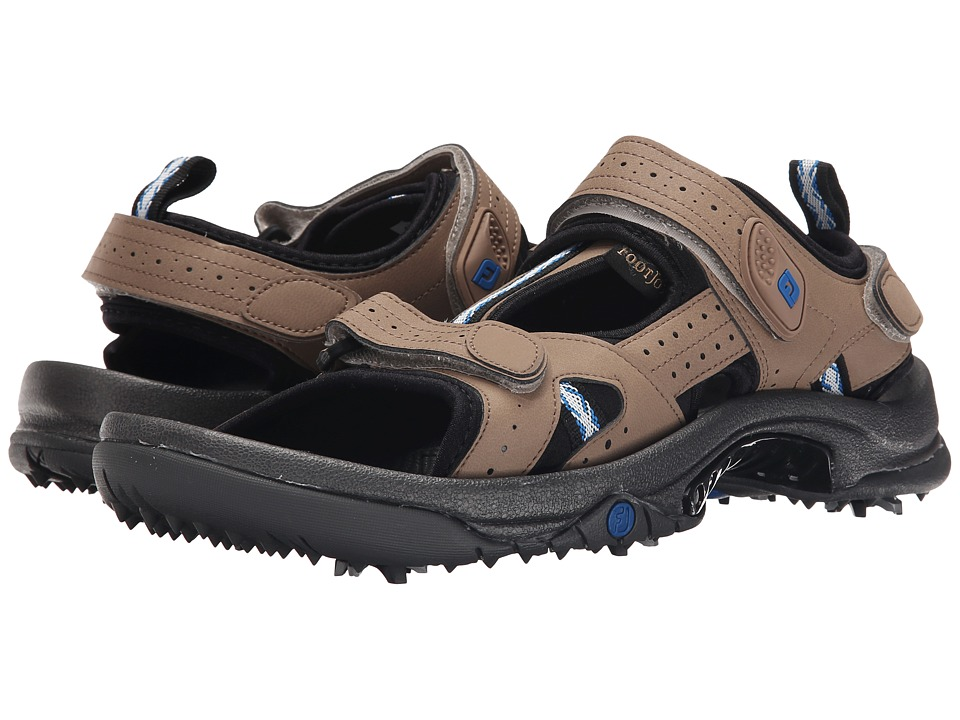 FootJoy - Golf Sandal (Dark Taupe) Men's Sandals