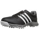 adidas Golf Jr 360 Traxion (Little Kid/Big Kid) (Core Black/Ftwr White/Iron Metallic)