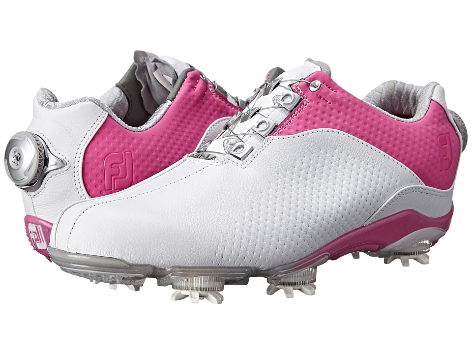 FootJoy - DNA (White/Fuchsia) Women