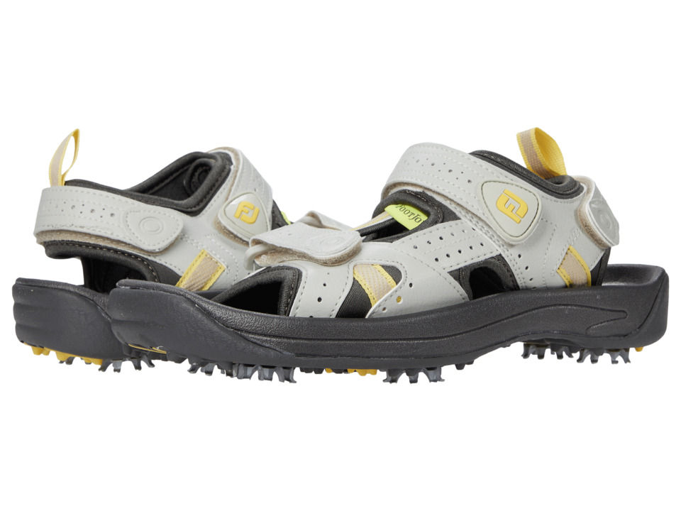 FootJoy - Golf Sandal (All Over Cloud/Yellow Trim (Close-out)) Women's Sandals