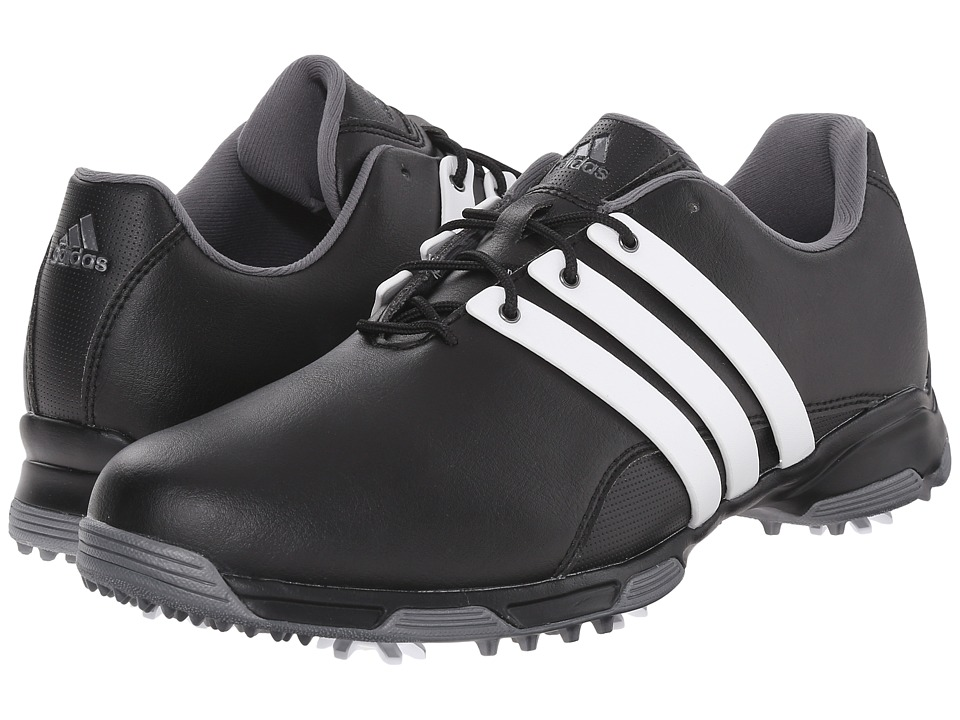 adidas Golf - Pure Trx (Core Black/Ftwr White/Dark Silver Metallic) Mens Golf Shoes