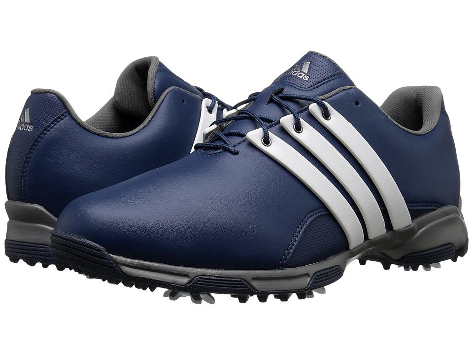 adidas Golf - Pure Trx (Mineral Blue/Ftwr White/Iron Metallic) Men