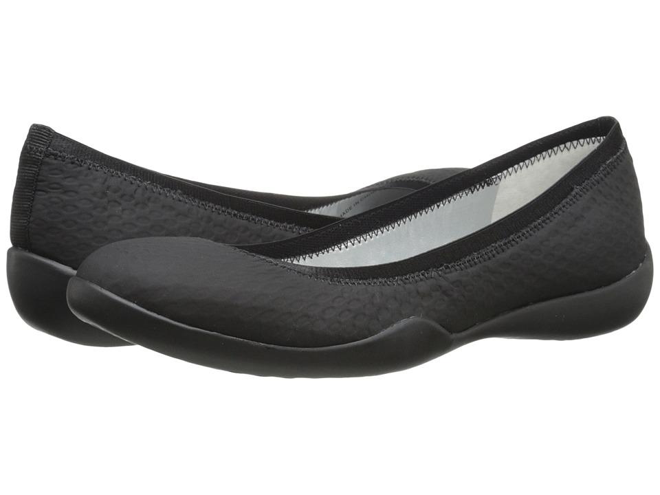 Tahari Nina Black Tammy Punot Womens Flat Shoes