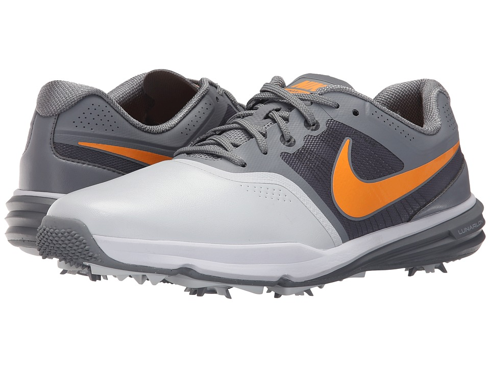 Nike Golf - Lunar Command (Pure Platinum/Vivid Orange/Classic Grey) Men