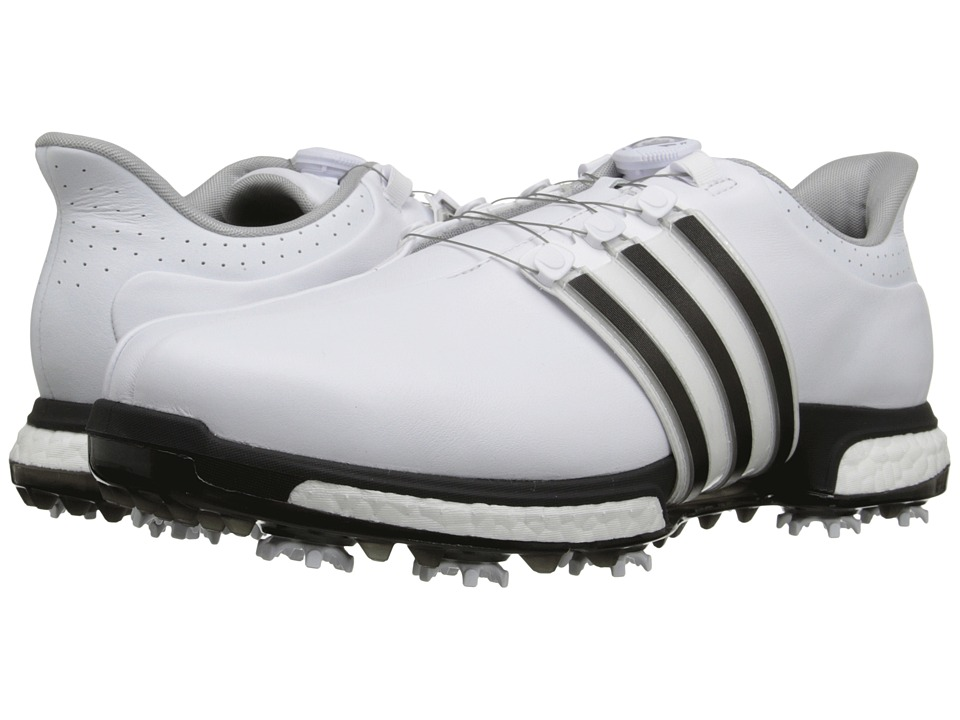 Adidas Golf - Tour360 Boa (Ftwr White/Core Black/Dark Sil...