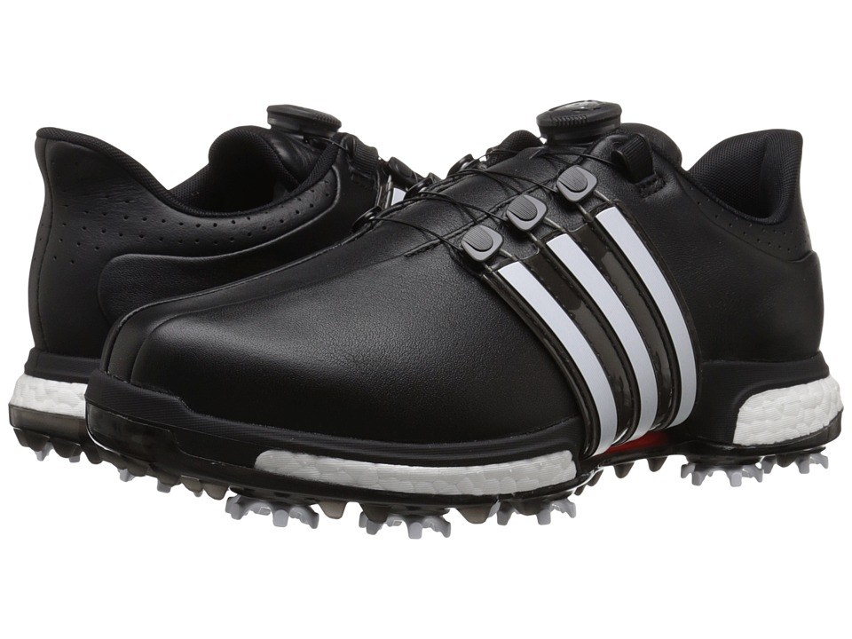 Adidas Golf - Tour360 Boa (Core Black/Ftwr White/Power Re...