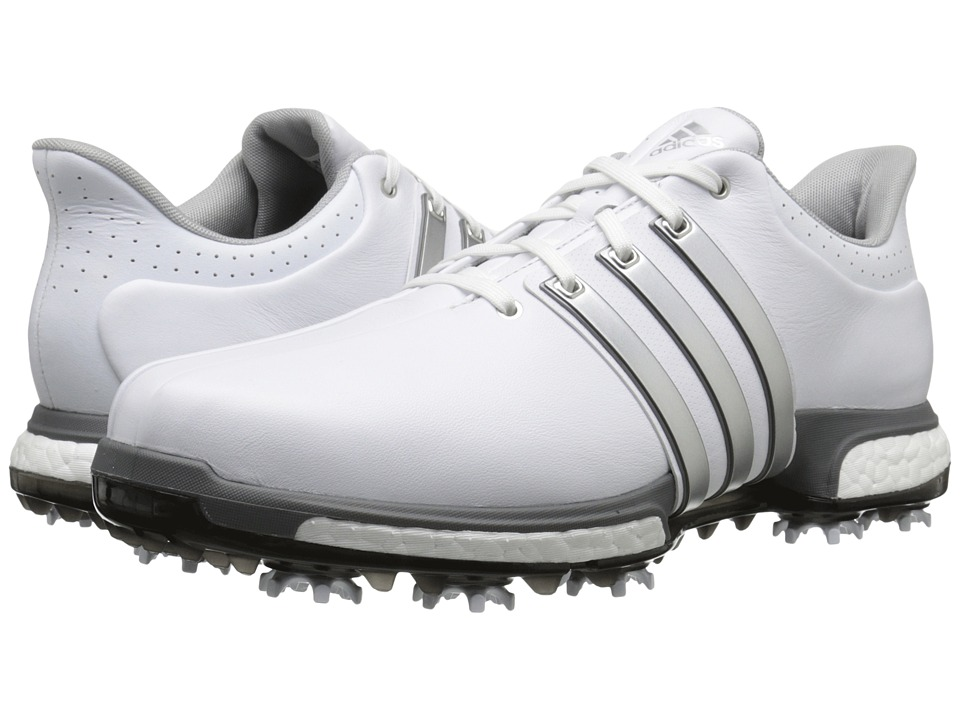 Adidas Golf - Tour360 (Ftwr White/Silver Metallic/Dark Si...