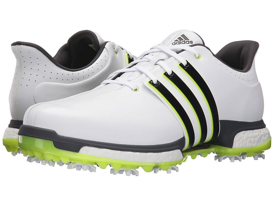 adidas Golf Tour360 (Ftwr White/Core Black/Solar Yellow) Men
