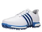 adidas Golf Tour360 Boost (Ftwr White/Eqt Blue/Shock Blue)