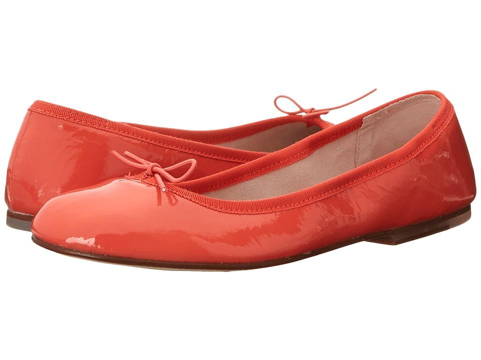 Bloch Patent Ballerina Orange Womens Shoes