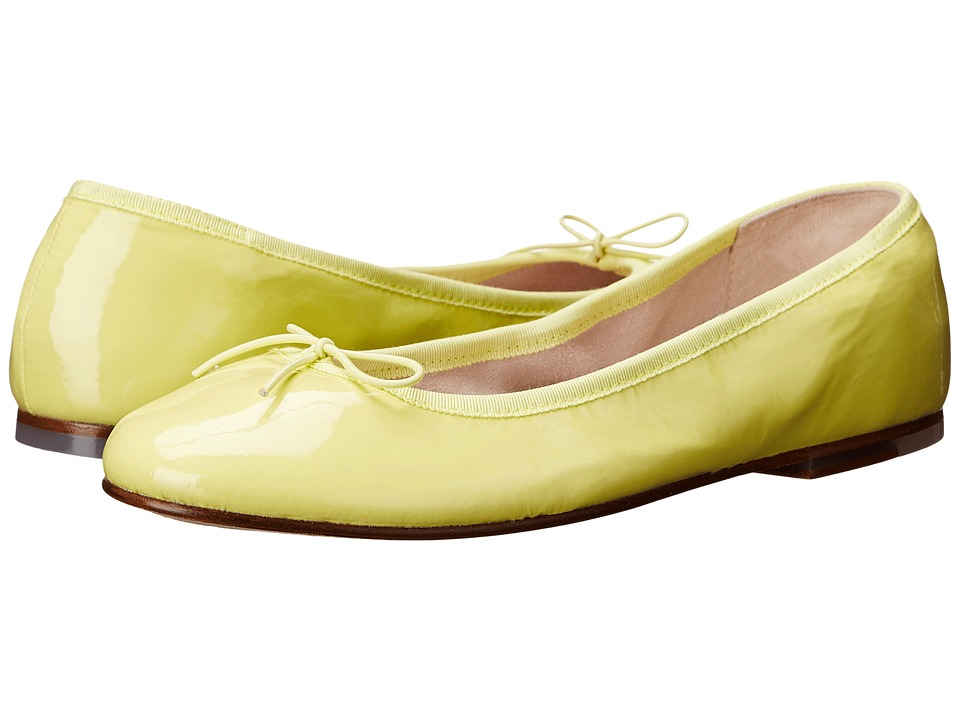 Bloch Patent Ballerina Yellow Womens Shoes