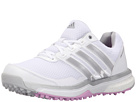 adidas Golf Adipower S Boost II (Ftwr White/Matte Silver/Wild Orchid-Tmag)