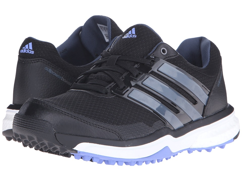 adidas Golf Adipower S Boost II Core Black/Bold Onix/Baja Blue Tmag Womens Golf Shoes