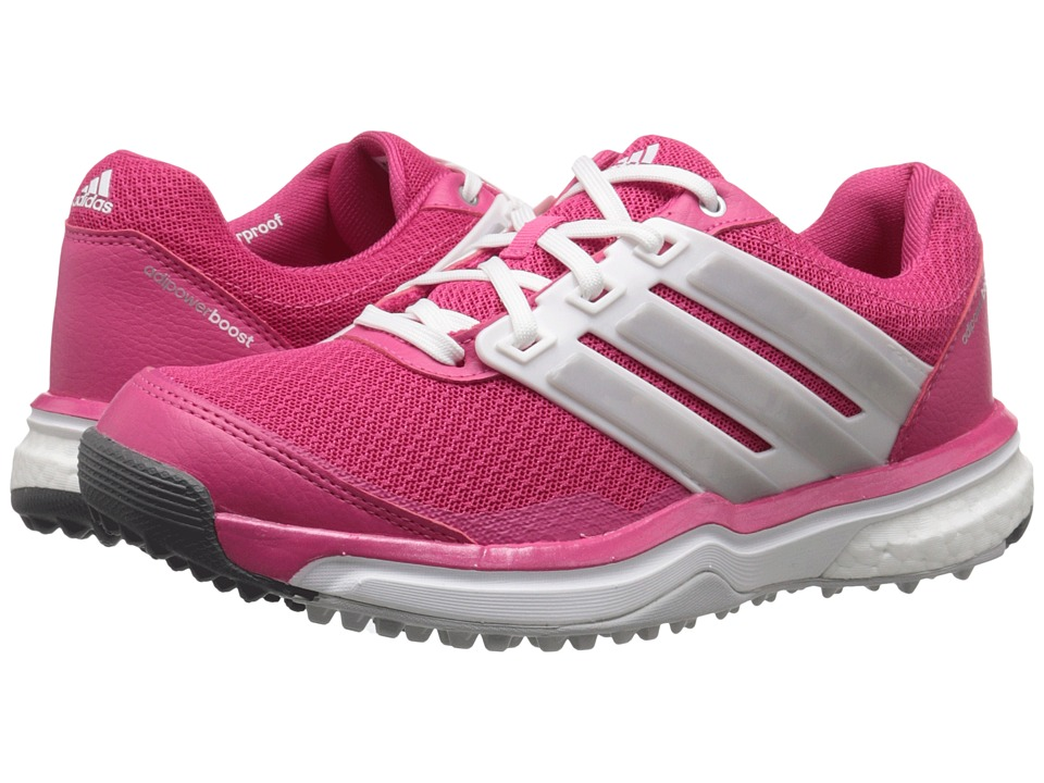 adidas Golf Adipower S Boost II Raspberry Rose Tmag/Ftwr White/Matte Silver Womens Golf Shoes