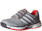 adidas Golf Adipower S Boost II (Clear Onix/Ftwr White/Shock Red)
