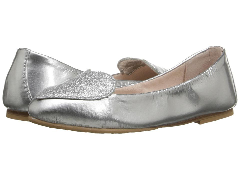 Bloch Kids Evelyn Toddler/Little Kid/Big Kid Silver Girls Shoes