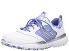 adidas Golf Adistar Sport (Ftwr White/Silver Metallic/Baja Blue-Tmag)