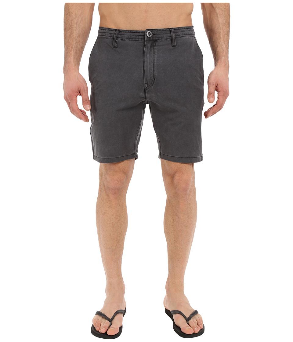 Volcom SNT Faded Hybrid Shorts (Black 1) Men