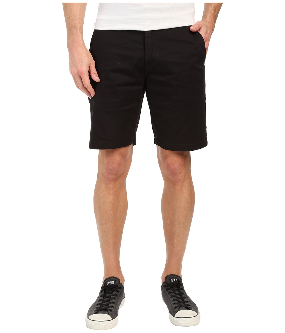Volcom Frickin Lightweight Chino Shorts (Black) Men