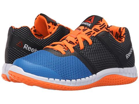 Reebok Kids Zprint Run GR (Little Kid) - Blue/Black/Red/White