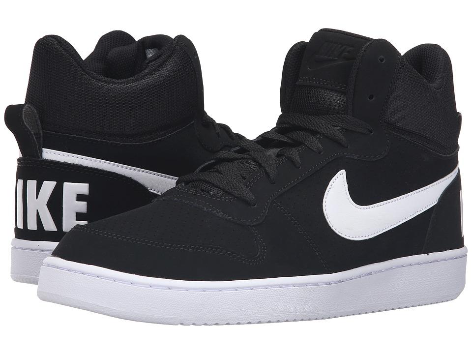 Nike Court Borough Mid (Black/White) Men