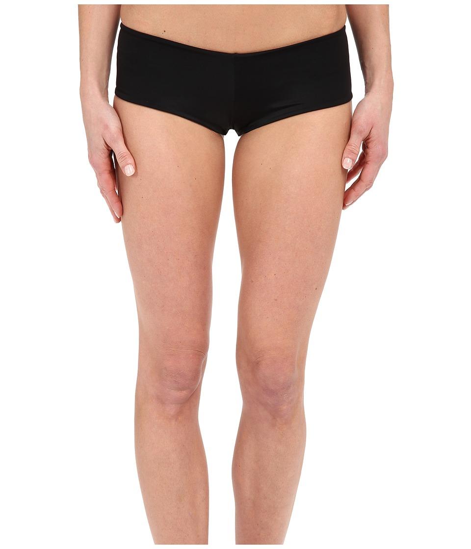 Lolli Classic Bow Bottom Black Womens Swimwear