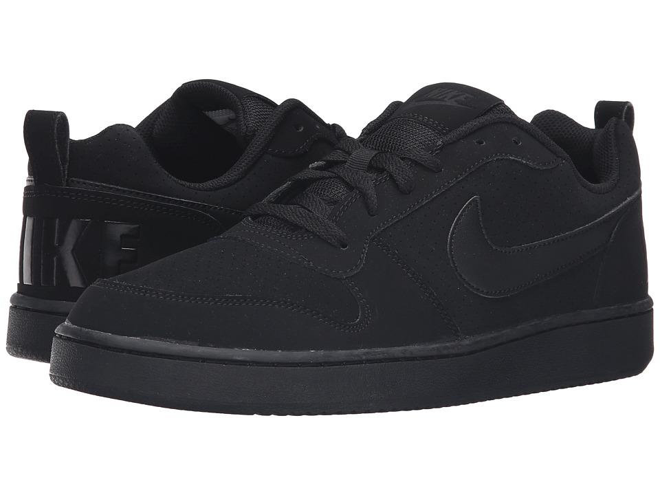 Nike Court Borough (Black/Black/Black) Men