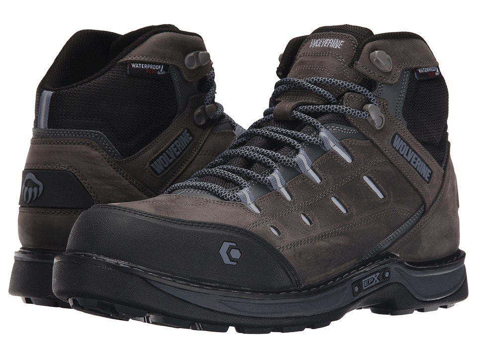 Wolverine Edge LX EPX Waterproof Carbonmax (Grey/Blue) Men