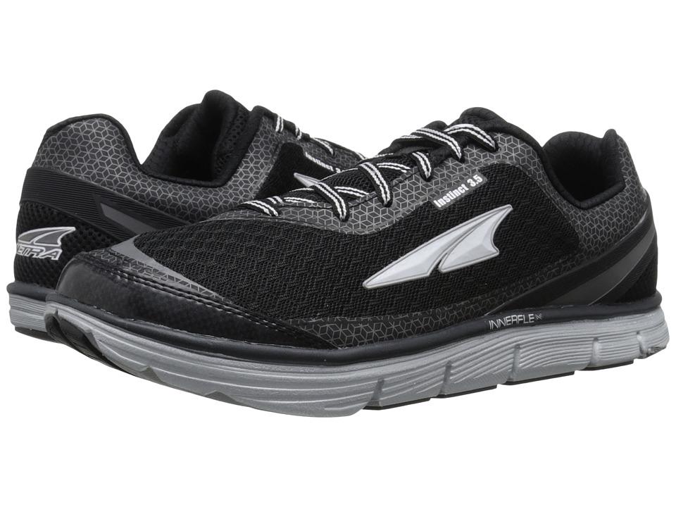 Altra Footwear Instinct 3.5 Black/Metallic Silver Mens Running Shoes