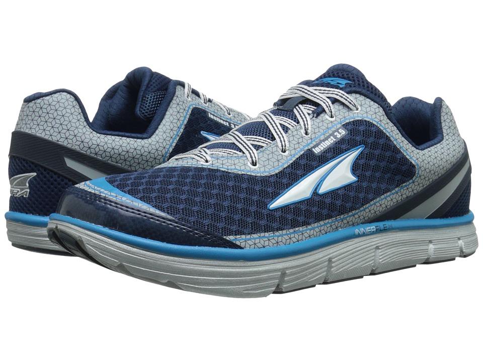 Altra Footwear Instinct 3.5 Blue/Silver Mens Running Shoes