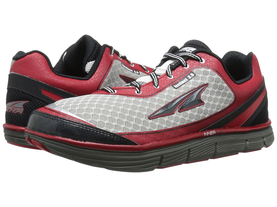 Altra Footwear Instinct 3.5 Racing Red/White Mens Running Shoes