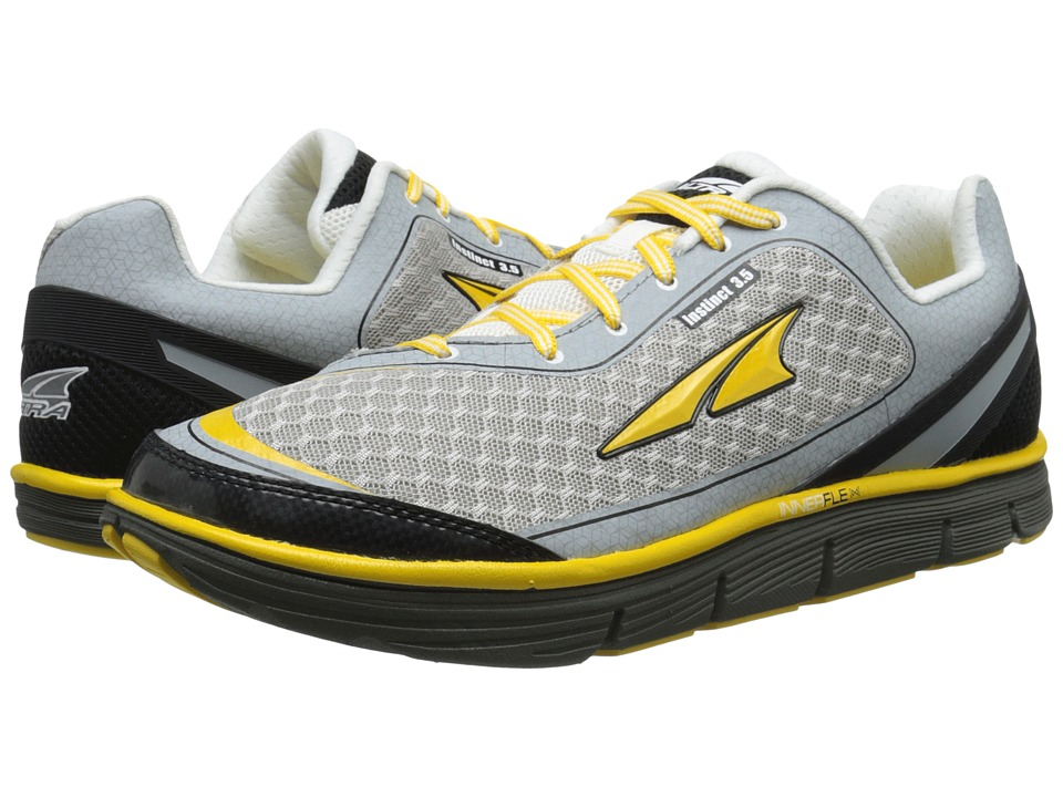 Altra Footwear Instinct 3.5 Cyber Yellow/White Mens Running Shoes