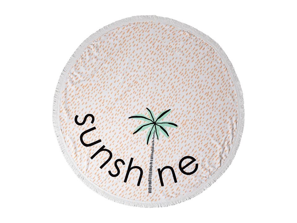 Lolli Sunshine Towel Palm Tree Bath Towels
