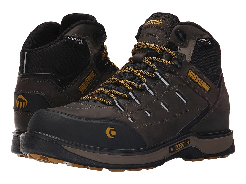 Wolverine Edge LX EPX Waterproof Carbonmax (Taupe/Yellow) Men