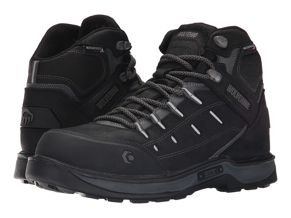 Wolverine Edge LX EPX Waterproof Carbonmax (Black/Grey) Men