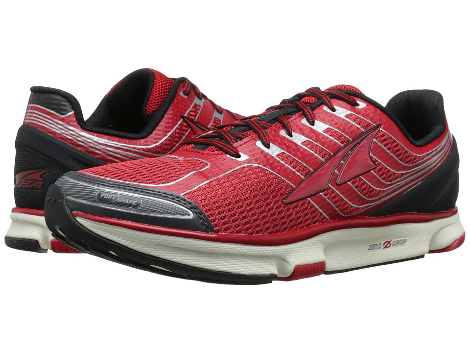 Altra Footwear Provision 2.5 Jester Red/Gray Mens Running Shoes