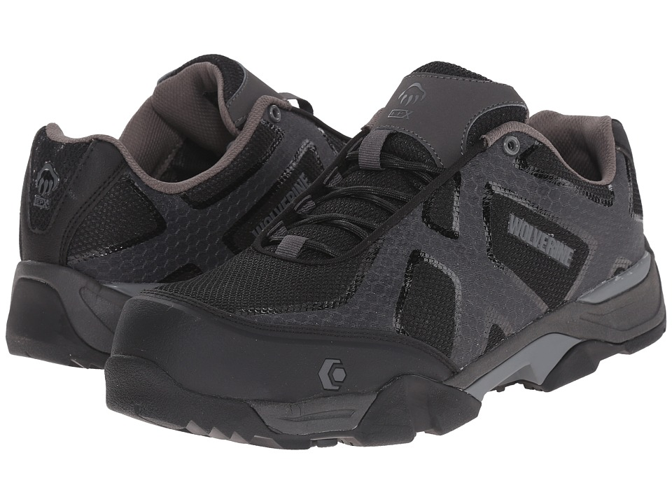 Wolverine Lightning SX EPX Nano Toe (Black/Grey) Men
