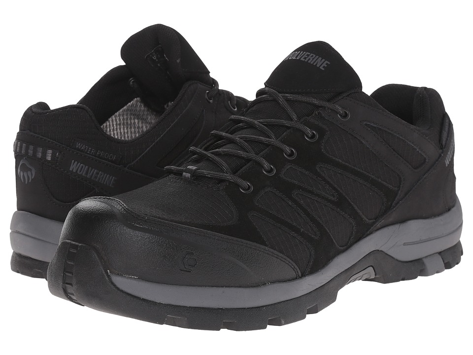 Wolverine Fletcher NT Low WPF Work Hiker (Black) Men