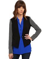 XOXO - Contrast Sleeve Blazer