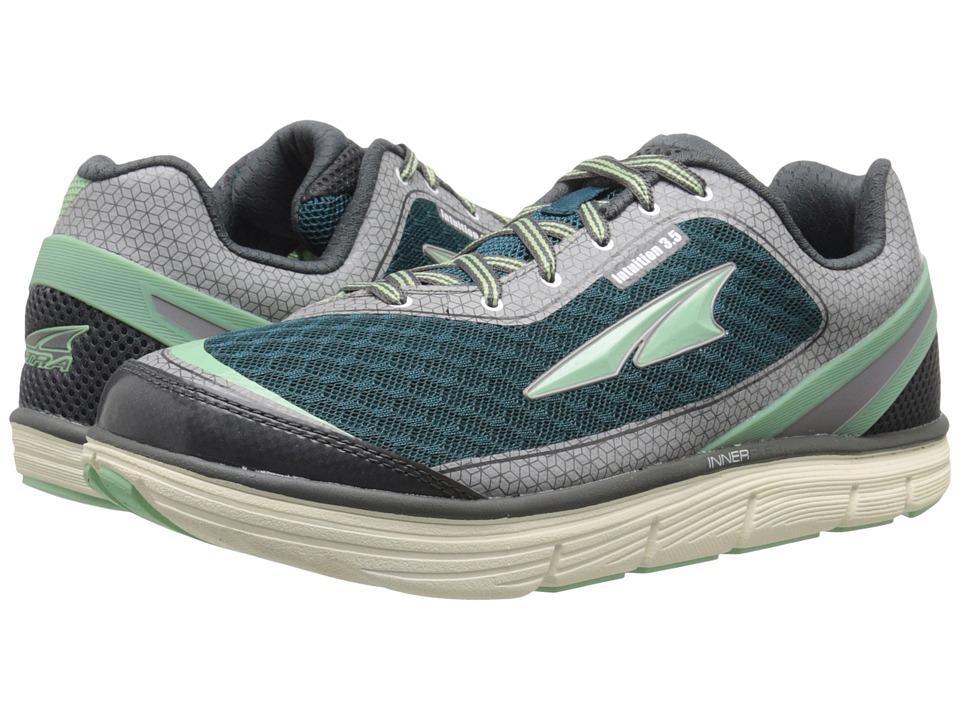 Altra Footwear Intuition 3.5 Hemlock/Pewter Womens Running Shoes