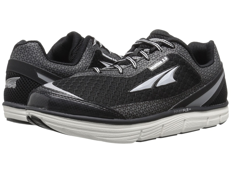 Altra Footwear Intuition 3.5 Black/Silver Womens Running Shoes