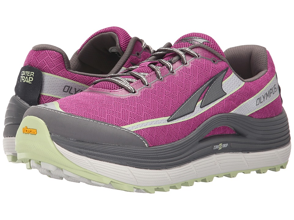 Altra Footwear Olympus 2 Orchid/Gray Womens Running Shoes