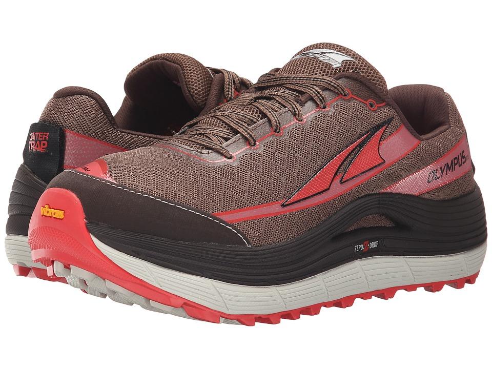 Altra Footwear Olympus 2 Shitake/Sugar Coral Womens Running Shoes